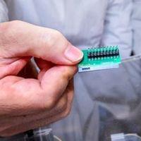 A világ legkisebb titkosító kvantumchipje