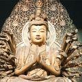 Robot bódhiszattva egy kiotói szentélyben