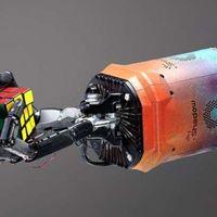 Egykezes robotkar rakja ki a Rubik-kockát