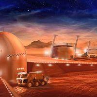 Építkezés a Marson