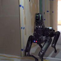 Hamarosan munkába állhat a Boston Dynamics robotkutyája