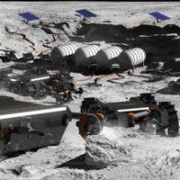 Robotrajok jeget bányásznak a Holdon?