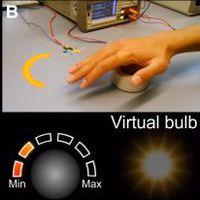 Érintés nélkül is meg tudunk mozgatni virtuális tárgyakat