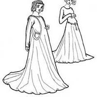 Középkori ruhák - 2: Cotte, Surcotte