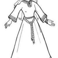 Középkori ruhák - 1: Tunika