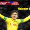 A hónap jenki játékosa: Alejandro Bedoya (december)