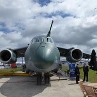 Brazil újdonság, a KC-390  Pápán