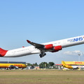 Kihalóban az Airbus A340