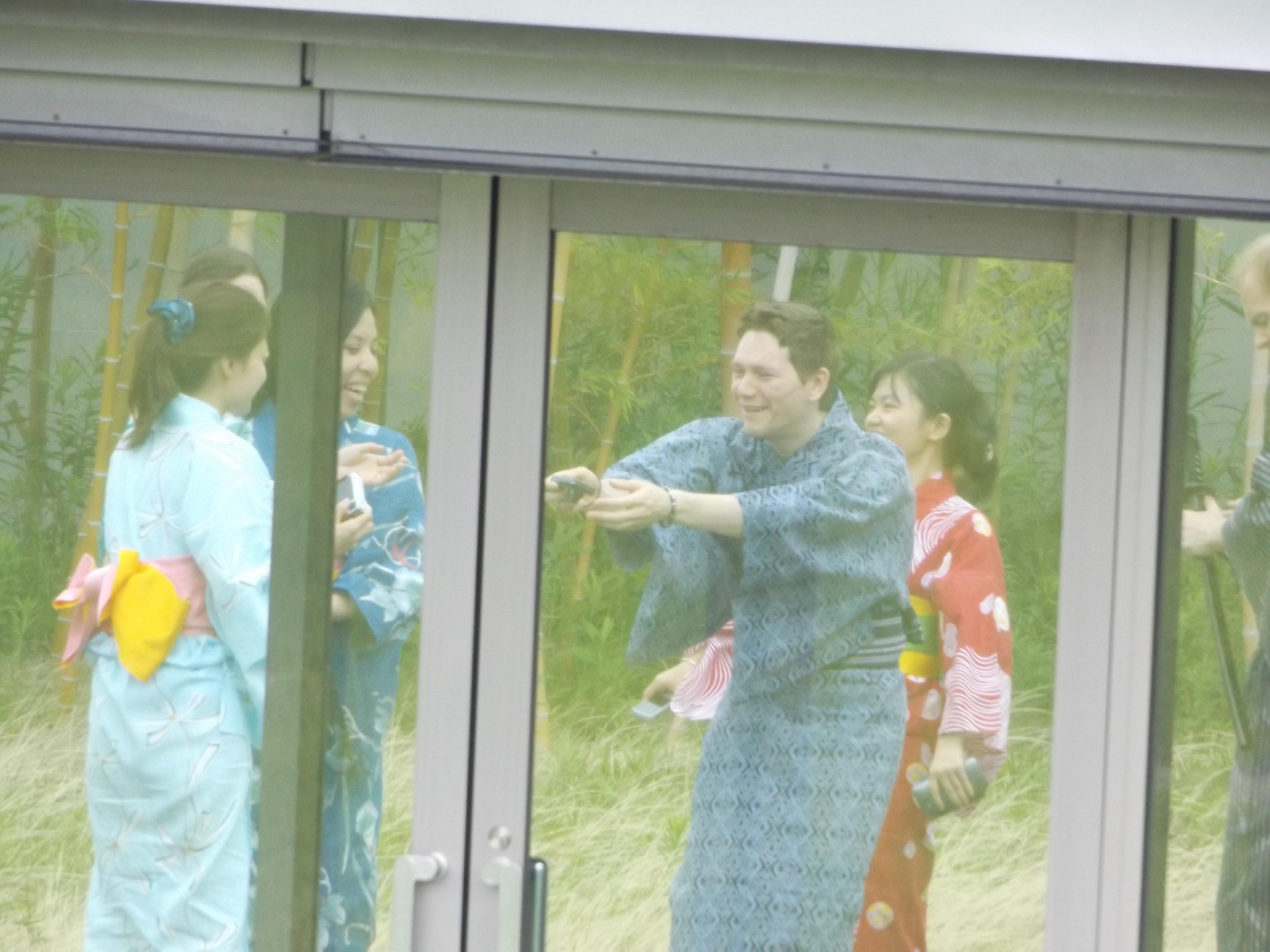 Felprobaltuk paran a yukatat, egy onfeledt pillanat :)