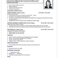 CV-péntek: önéletrajz-minta bevándorlóknak
