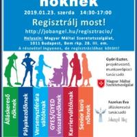 Női álláskereső kurzus – 2019.01.23. 14:30-17:00