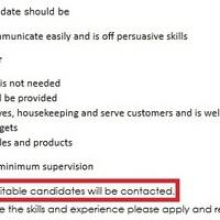 önéletrajz visszautasítás Visszajelzés álláshirdetésekre 2.   JobAngel önéletrajz visszautasítás