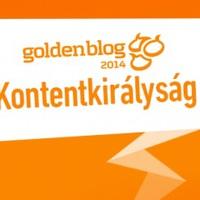 Goldenblog – kontentkirályság. Királyság???