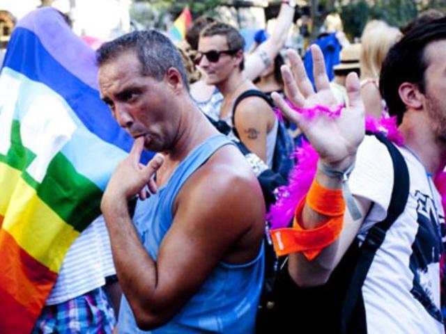 Egyenes emberek homoszexuális szex
