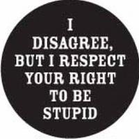 A hülyeség jogán