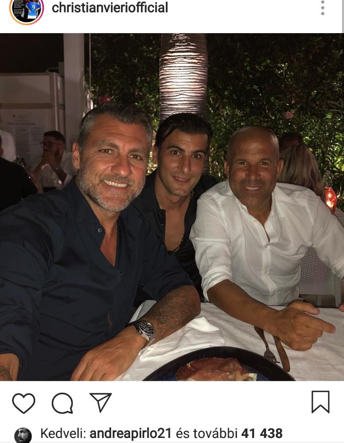 Ventola (akiről Bobo dalt is faragott) és Di Biagio