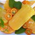 Házi narancs-nektarin fagylalt