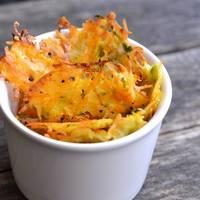 Házi parmezános zöldség chips