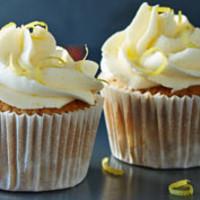 Earl Grey teás muffin citromos krémmel