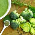 Póréhagymás brokkolikrémleves