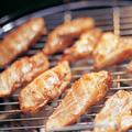 Szójaszószos- parázson sült csirkemell