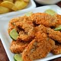 Extra finom, sütőben sült kókuszbundás csirkemell