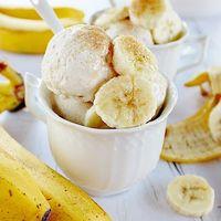 Tejfölös banán fagylalt