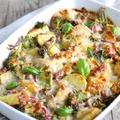 Rakott brokkoli - krumplival és sajttal
