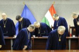 Vizsgáztak az alkotmánybírák