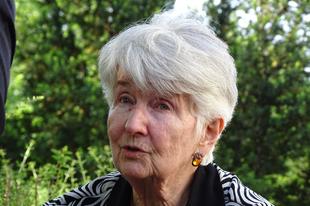 Hédy Böhm, aki túlélte Auschwitzot