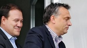 Orbán kvaterkázik Tarsoly Csabával