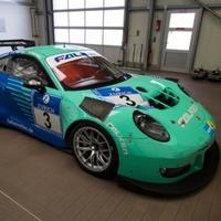 Ez a Falken Porsche indul a Nürburgringen