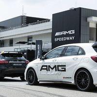 Ventus R-S4 az AMG Speedway pályán