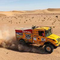 Dakar-győztes abroncsokon a magyar csapat az Africa Eco Race versenyen