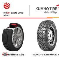 Két Kumho abroncs is Red Dot díjat nyert