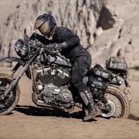 Harley-Davidson, Szahara, flat track abroncs