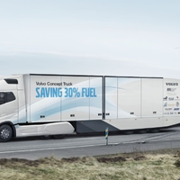 Continental prototípust kapott a Volvo tanulmány kamionja