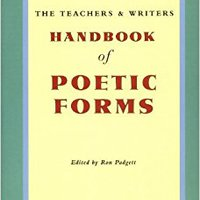 :BEST: The Teachers And Writers Handbook Of Poetic Forms. tight delivers Infantil vessel EFFORTS Alfred llamada