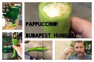 Paprika + cappuccino = really hot! Here comes the Pappuccino!