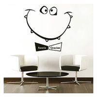 Egy ötletes falmatricával egyből más a váróterem, tárgyaló... ;) #lollipopnyomda #matrica #faltetoválás #falmatrica #kreativ #iroda #meetingroom #üzlet #lakberendezés #egyedi