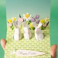 Kreatív húsvéti képeslap
