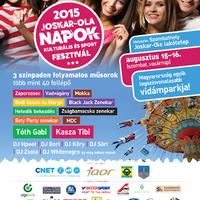 Joskar-Ola Napok 2015. augusztus 15-16. - plakát