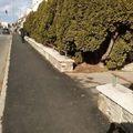 Járdafelújítás a Hunyadi úton