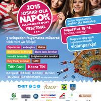 Joskar-Ola Napok 2015. augusztus 15-16. - programok