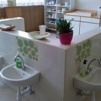 Bokréta Bölcsőde mosdói is megújultak