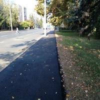 Finishben a járdafelújítás a Hunyadi úton