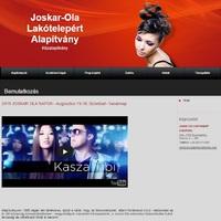 Joskar-Ola Lakótelepért Alapítvány weboldala
