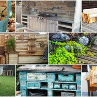 95 ötlet raklapból a kertedbe vagy teraszodra, amiket te is elkészíthetsz