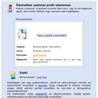 Frissült a profil oldali megjelenés