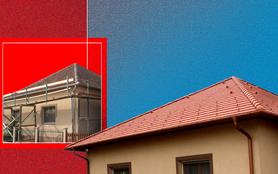 Hagyományos formavilág modern tetőn